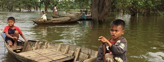 Kampong Phluk (Floating village) is one of Unforgettable Siem Reap.