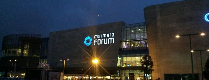 Marmara Forum is one of Lugares favoritos de Yusuf.
