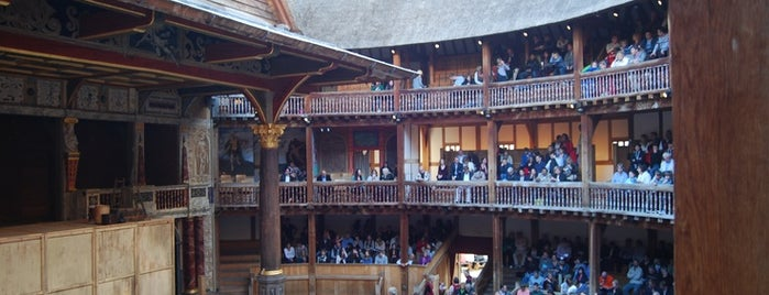 Shakespeare's Globe Theatre is one of Tipy v Londýně.
