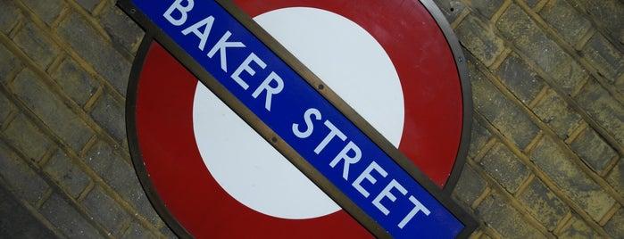 Baker Street is one of Tipy v Londýně.