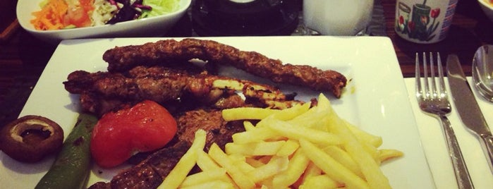 Hunkar Restaurant is one of สถานที่ที่บันทึกไว้ของ Emre.
