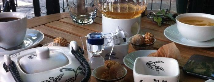 Ronnefeldt Tea Shop is one of Orte, die Melin gefallen.
