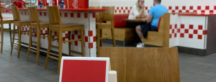 Five Guys is one of Graham's Liked Places.