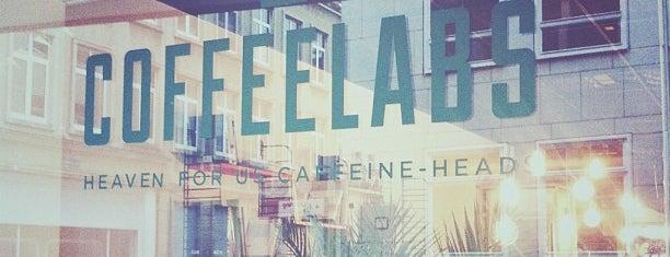 Coffeelabs is one of Tips weekendje weg Antwerpen.