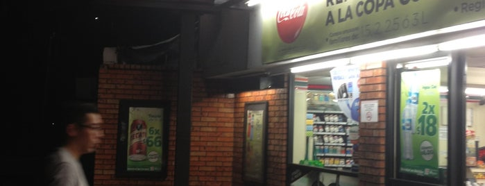 7- Eleven is one of Orte, die Ana Luisa gefallen.