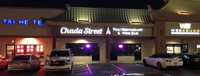Chada Street Thai Restaurant & Wine Bar is one of Tempat yang Disimpan Chris.