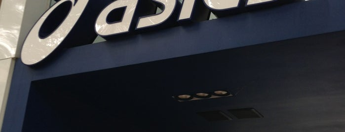 Asics is one of Locais curtidos por Harlen.
