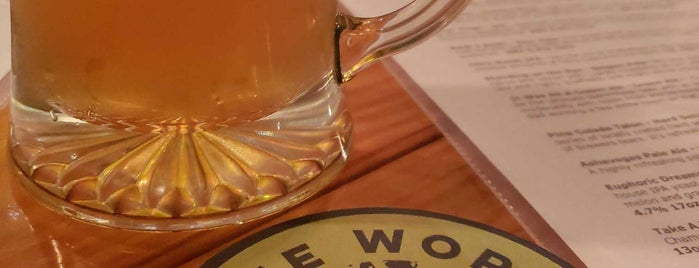 One World Brewing is one of Asheville.