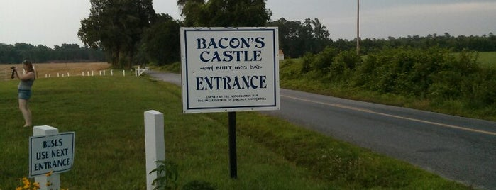 Bacon's Castle is one of Virginia Jaunts.
