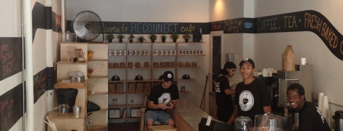 Reconnect Cafe is one of Best in NYC coffee.