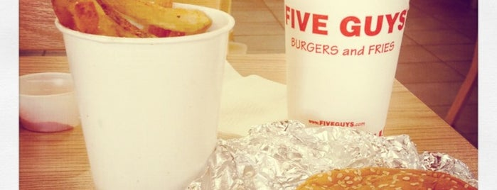 Five Guys is one of Latonia's Liked Places.