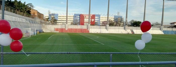 Club Nacional is one of Aqui na terra tão jogando futebol.