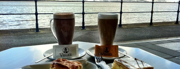 Verdi's is one of Swansea.