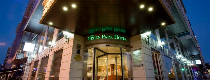 The Green Park Taksim Hotel is one of Ahmet: сохраненные места.
