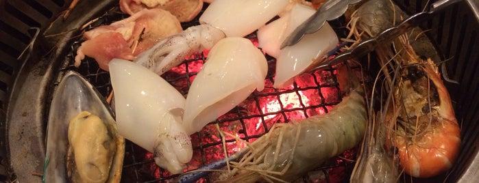 Kaiten Yakiniku Shabu Sushi is one of Tai.