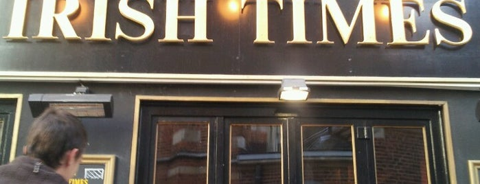 The Irish Times Pub is one of Nearby.