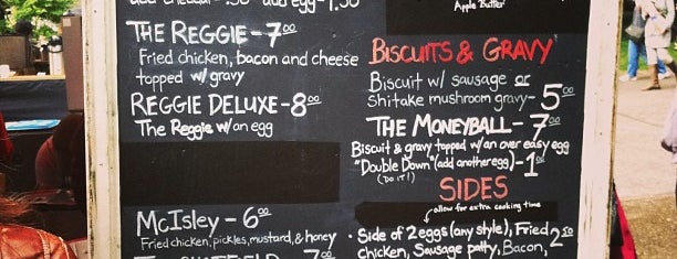 Pine State Biscuits is one of PDX.