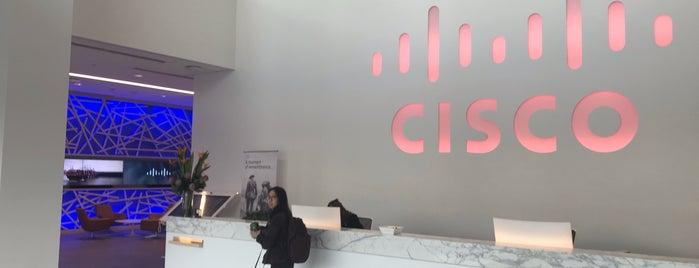 Cisco - Executive Briefing Center is one of สถานที่ที่ Lewando ถูกใจ.
