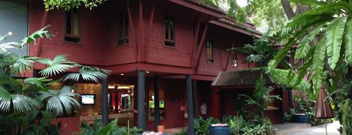 The Jim Thompson House is one of BKK - REP - HKT.