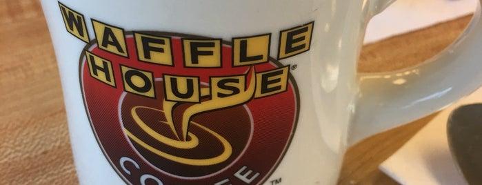 Waffle House is one of Orte, die Jordan gefallen.
