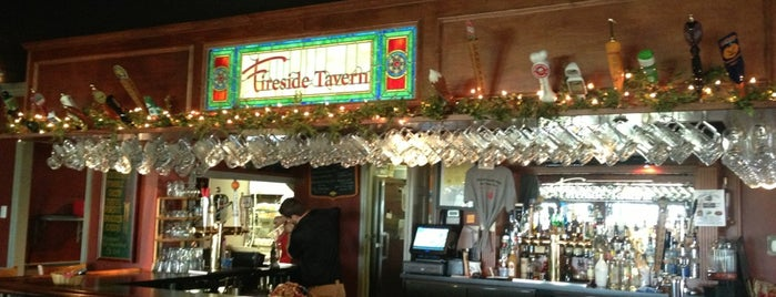 The Fireside Tavern is one of Tempat yang Disukai Chrissy.
