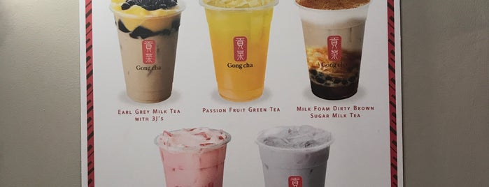 Gong Cha is one of Lugares favoritos de Julia.