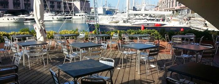 La Banchina is one of √ Best Cafès & Bars in Genova.