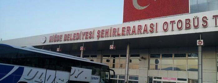 Niğde Şehirler Arası Otobüs Terminali is one of Yunus'un Beğendiği Mekanlar.