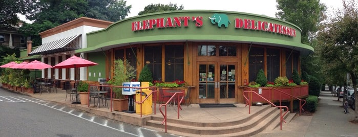 Elephants Delicatessen is one of Portland.