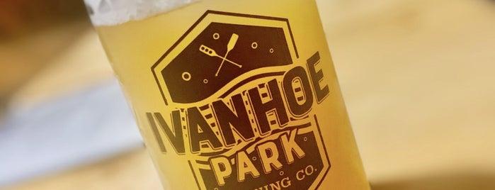 Ivanhoe Park Brewing Company is one of Tempat yang Disukai Lisa.