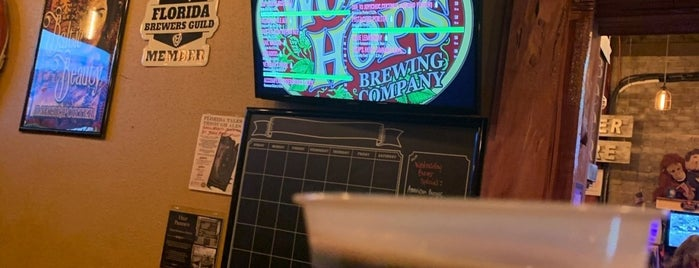 Wop's Hops Brewing Company is one of Orlando Breweries.