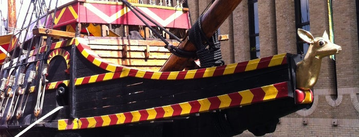 The Golden Hinde is one of London Essentials.