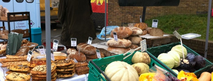 Parliament Hill Farmers' Market is one of London Markets.