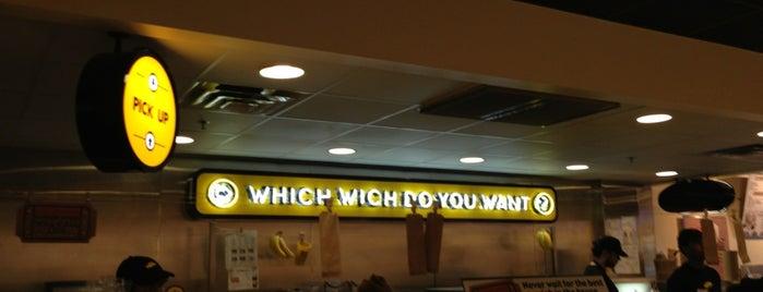 Which Wich? Superior Sandwiches is one of Orte, die Katie gefallen.