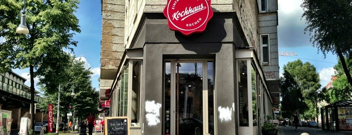 Kochhaus is one of Berlin für Foodies.