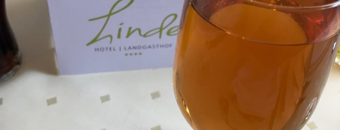 Die Linde Restaurant is one of Lugares favoritos de Przemek.