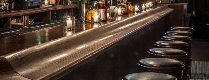Ward III is one of Manhattan's Top 100 Cocktail Bars 🥃.