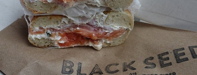 Black Seed Bagels is one of NY.