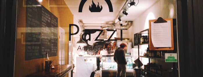Pazzi Italian Slow Food is one of Hello, Amsterdam.