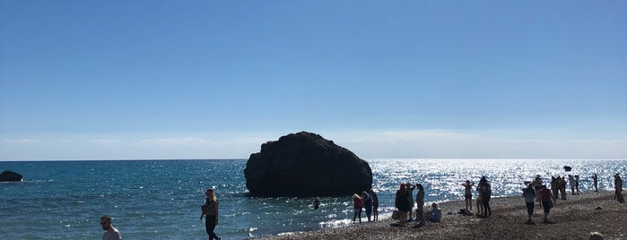 Petra tou Romiou | Rock of Aphrodite is one of Cyprus. Places.