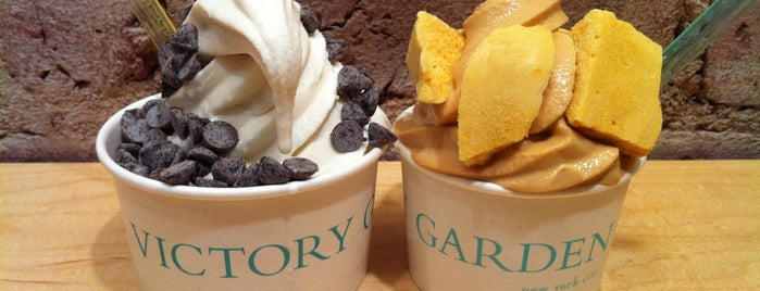 Victory Garden is one of Ice cream.