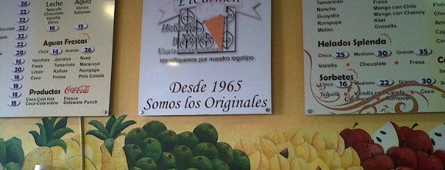 Paletería El Carmen is one of Tempat yang Disukai Monserrat.