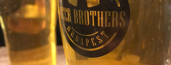 Beer Brothers is one of Budapest [beer].