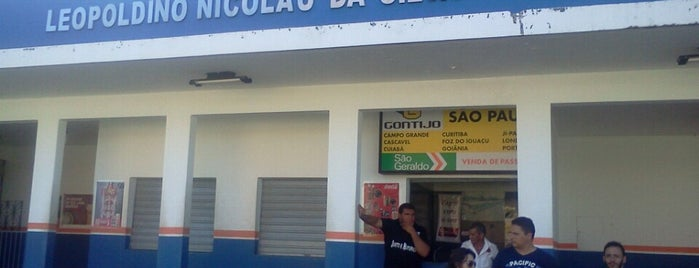 Terminal Rodoviário Leopoldino Nicolau da Silva is one of *****Beta Clube*****.