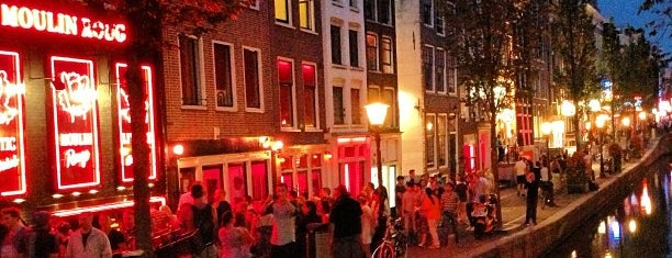 Red Light District / De Wallen is one of Amsterdam, NL Spots.