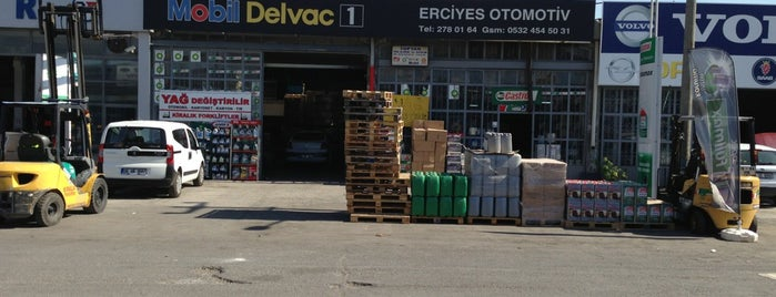 Erciyes Otomotiv is one of Forklift kiralama ankara.