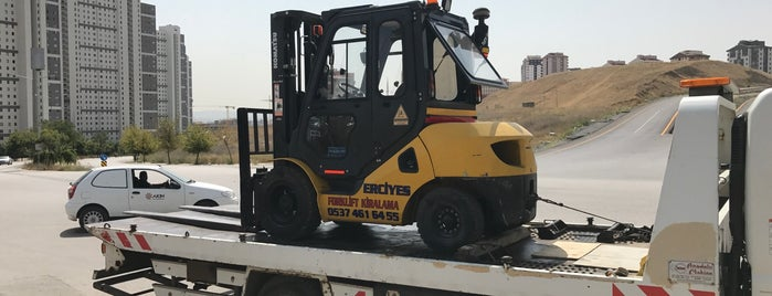 Eryaman Forklift Kiralama is one of Mehmet 님이 좋아한 장소.