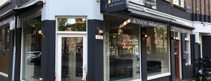 Tulsi Indian Restaurant is one of TODO Amsterdam.