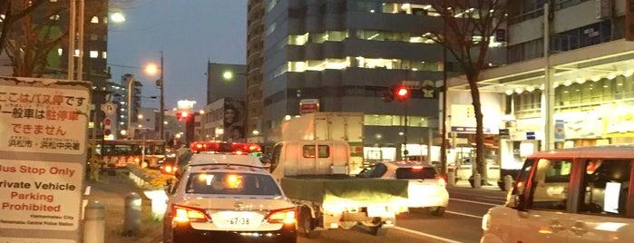 ザザシティ前バス停 is one of 遠鉄バス 16-4|小沢渡線.