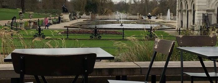 Italian Gardens Café is one of London.